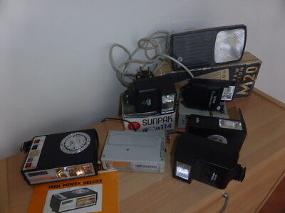 A lot of vintage flashes