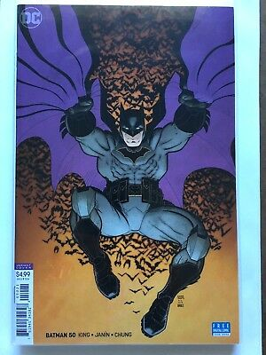 Batman #50 (2018 Dc) Nm/m Art Adams Variant Wedding Issue Catwoman Joker