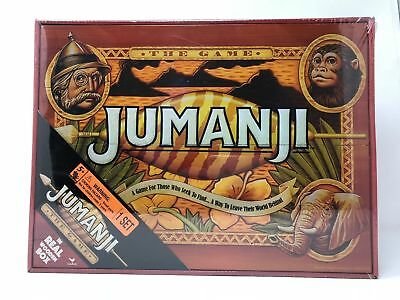 Brand New Jumanji Board Game Cardinal Edition In Real Wooden Wood Box Sold Out
