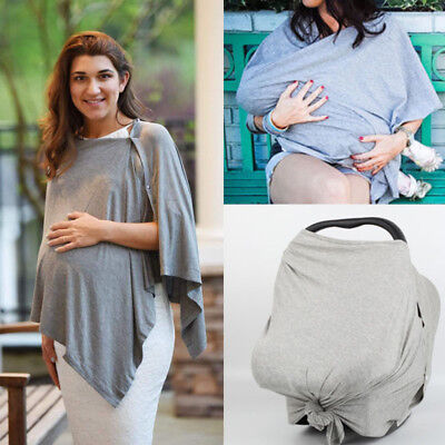 Breathable Cotton Cover Baby Breastfeeding Nursing Cover Feeding Women Scarf