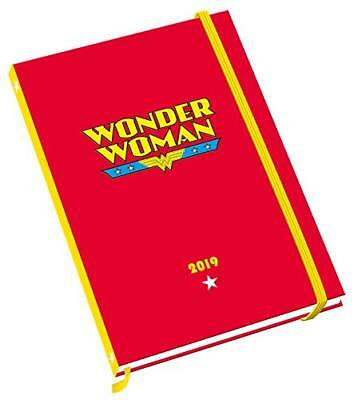 Wonder Woman A5 Official 2019 Diary - A5 Diary Format  743 NEW