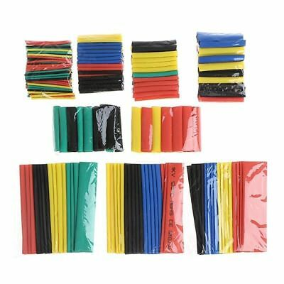 328pcs Assortment Ratio 2:1 Heat Shrink Tubing Tube Sleeving Wrap Wire Cable Kit