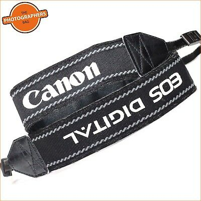 Canon EOS Digital Black,White & Grey Camera Strap For DSLR Cameras