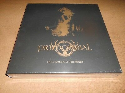 """Primordial - Exile Amongst The Ruins BOX, 2-CD + 5-10"""",Ltd.1000,Special Edition"""