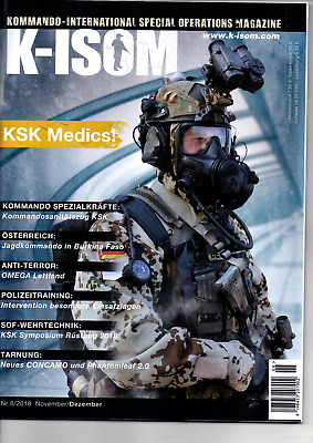 K-ISOM 6/2018 Kommando-International Special Operations Magazine KSK NEU