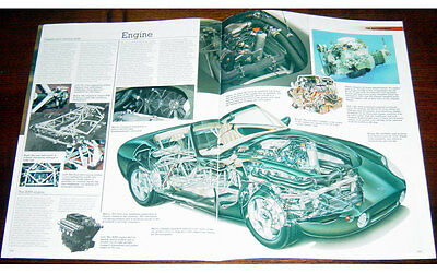 TVR Griffith Fold-out Poster + Cutaway drawing