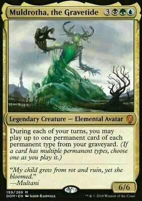 Muldrotha, the Gravetide ~ Dominaria ~ MINT/NearMint ~ Magic The Gathering