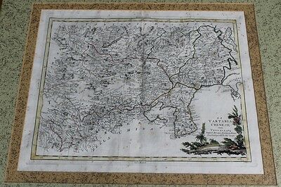 Antique Map Of China Chinese Territory Venezia 1784 By Antonio Zatta E Figli