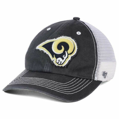 low priced 29e08 c245a Los Angeles Rams NFL  47 Taylor Closer Cap Hat Stretch-Fit Mesh Back  Football