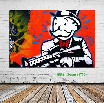 Alec Monopoly Canvas HD Prints Painting Wall Art Home Decor 12x18 inch #31
