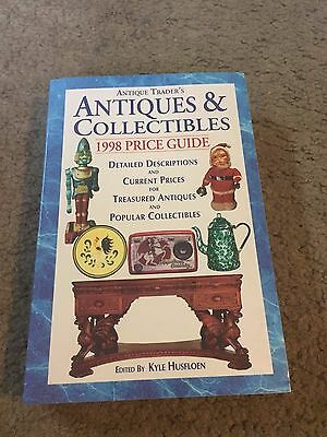 Antique Trader's Antiques & Collectibles 1998 Price Guide book Kyle Husfloen