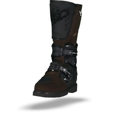 Sidi Adventure 2 Gore-Tex Black Brown Allroad Motorcycle Boots - Free Shipping