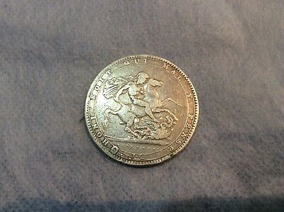 1820 George The Third Silver Crown