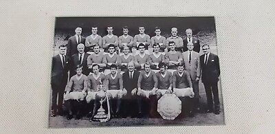 Real Photograph  Manchester United Team Photo