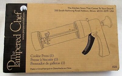 Pampered Chef Cookie Press - #1525