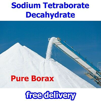 Pure Borax - Sodium Tetraborate Decahydrate - Makes Best Slime Ever
