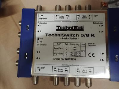 TechniSat TechniSwitch 5/8 K Multischalter Switch Kaskadeneinheit