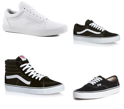 9850bbc566dc59 Women Vans Old Skool - Authentic - SK8-HI Skateboarding Shoes Sneaker All  Sizes