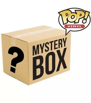 Funko Pop Grab Box , Dorbz,  (Anime, Gaming, Funko, Comics, Marvel) 4 Items