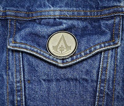 Assassins Creed Collector Pin - Chronicles Insignia - Origins Odyssey Black Flag