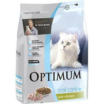 Optimum Adult Cat Food Oral Care With Chicken 1.5kg