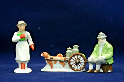 The Heritage Collection Department 56 ALPINE VILLAGERS   Set of 3 6542-0   w/box