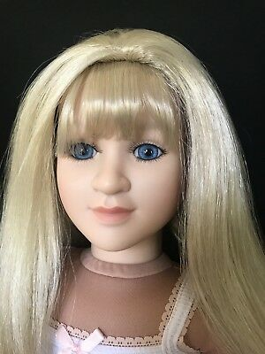 "My Twinn 23""  Beth Doll 1997 Head With 2008 Body Blonde Hair Blue Eyes"