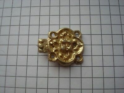 ancient gold-plated silver clasp