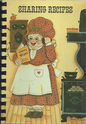 LUBBOCK TX 1988 Amwa Business Women's Club Sharing Recipes Cook Book Texas  Rare