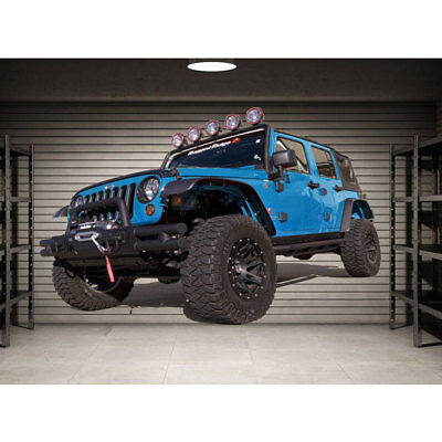 Full Color Jeep Full Color Decal, Wrangler, Off Road Full color sticker, wall