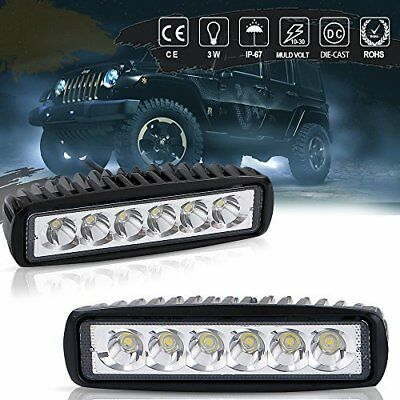 18W LED Roof Cab Lamps For Snow Blower John Deere L100 100 La100 D100 Series UTV