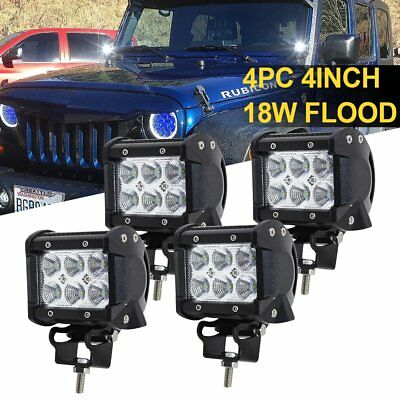 18W LED Light for Tundra Tacoma Pickup Offroad SUV UTV UTE Side x Side 4x4 Truck