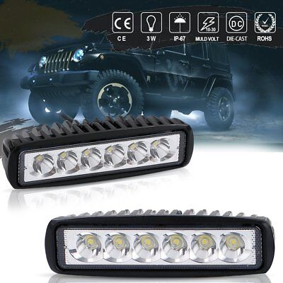 18W LED Light Backrack light Fit Work Truck Tow Truck Tralier Commercial truck