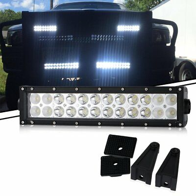 72W  LED Light for YAMAHA YFZ 350 ATV PARTS John Deere Lawnmower Plow Truck