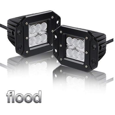 18W LED Light for Off-road SUV Boat 4x4 Jeep FREIGHTLINER  KENWORTH  PERTERBILT