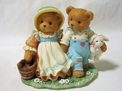 Cherished Teddies JACK & JILL Our Friendship Will Never Tumble Bear 662772 IOB