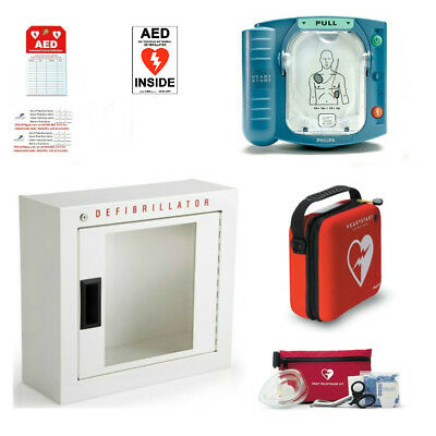 PHILIPS HEARTSTART AED (warranty) includes battery, pads