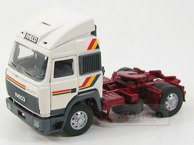 Iveco Fiat Turbostar Tractor Truck 1987 White Oldcars 1:43 OLD00570BC
