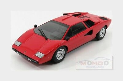 Lamborghini Countach Lp400 1974 Red KYOSHO 1:18 KY09531R