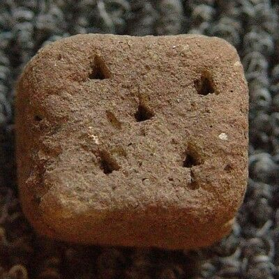 Stunning & Very Rare Ancient Roman Augury Pottery Dice 1 - 3rd CENTURY AD - A257