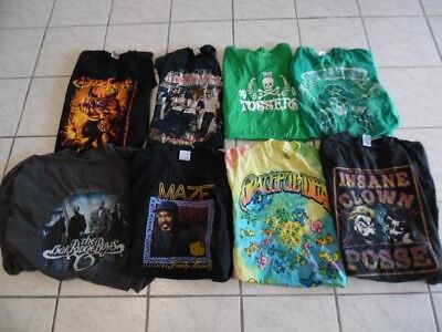 Men's Wholesale Lot 96 Retro Modern Rock Hip Hop Country Band T-shirts (wb77)