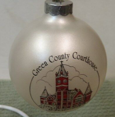 GREEN COUNTY MONROE WI CHEESE DAYS 1994 Ornament
