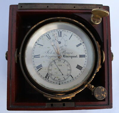 Marine Chronometer by John Bruce of Liverpool