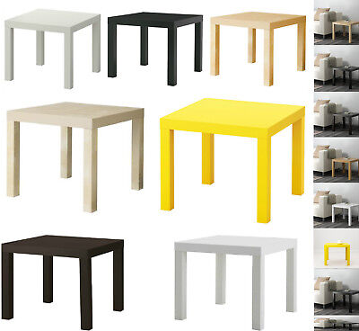 IKEA Side End Table Coffee Table Display Square Small Office Home Lack (55x55cm)
