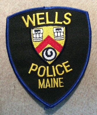 ME Wells Maine Police Patch