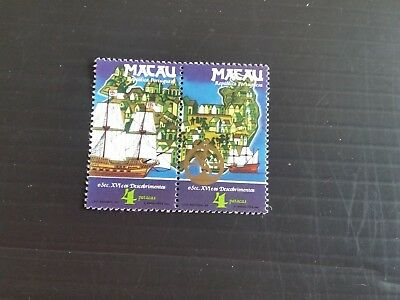 Macao 1983 Sg 585-586 16Th Cent Discoveries Mnh (M)