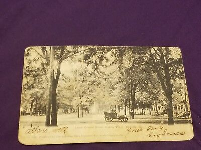Lower Green Street looking west —Augusta GA Antique Postcard 1906