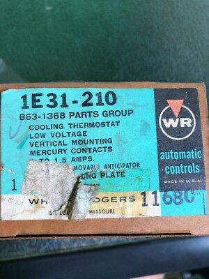 1E31-210 B63-1368 Parts Group Cooling Thermostat Vintage Thermostat