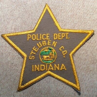 IN Steuben County Indiana Sheriff Patch