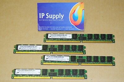 Cisco M-ASR1K-1001-16GB 16GB 4x4GB DRAM Kit for ASR1001 Series Routers RP2